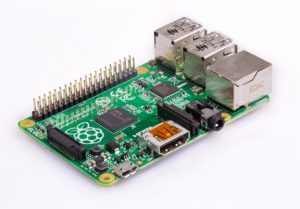 Abbild des Raspberry-Pi-Model-B