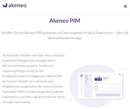 Akeneo PIM System - Screenshot von Akeneo.com