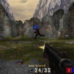 Ingame Screenshot zum Linux Spiel Assault Cube