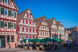 Fachwerkhaus in der Altstadt von Calw