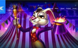 Screenshot der Elk Studios Webseite