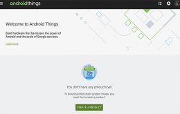 Google Android Things Version 1.0