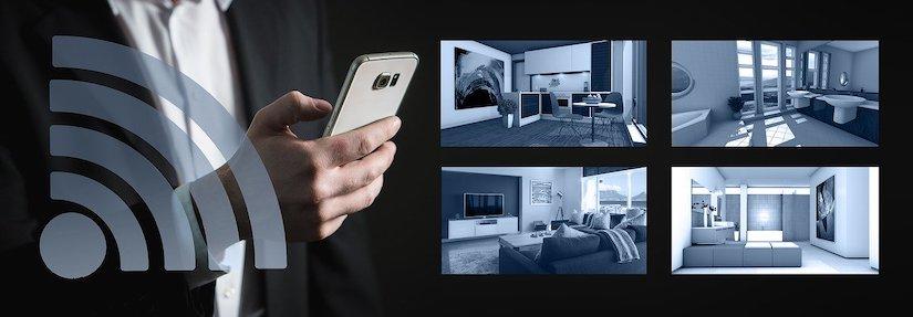 Smart-Home-System Einsatz im Einfamilienhaus