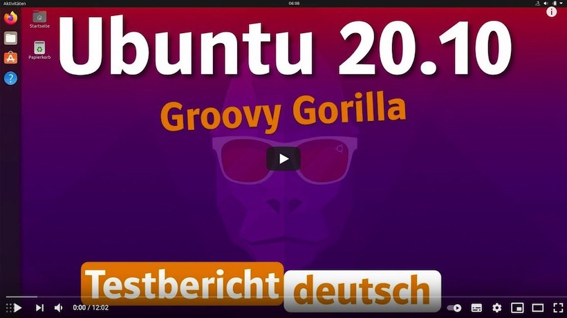 Ubuntu 20.10 - Groovy Gorilla im Test